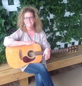 Singer-songwriter Cammie Collier. Will be performing with Sam Sanger Feb. 18 at 7 pm.